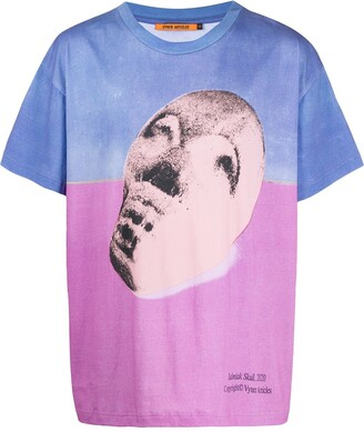 Vyner Articles colour-block graphic print T-shirt
