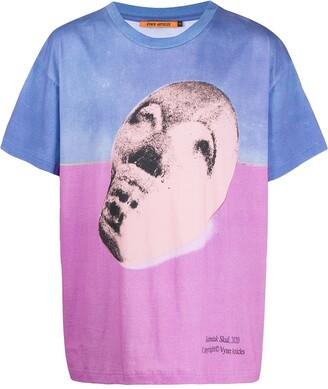 Vyner Articles colour-block graphic print T-shirt