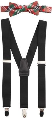 Chaps Boys Suspender & Bow Tie Set