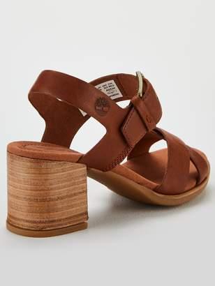 Timberland Tallulah May Heeled Sandals - Light Brown