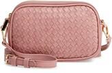 Thumbnail for your product : Mali & Lili Ava Woven Vegan Leather Crossbody Bag