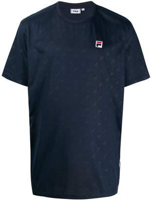Fila logo monogram T-shirt