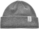 Barbour Lambswool Beanie Hat Grey