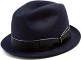 Borsalino Trilby felt hat