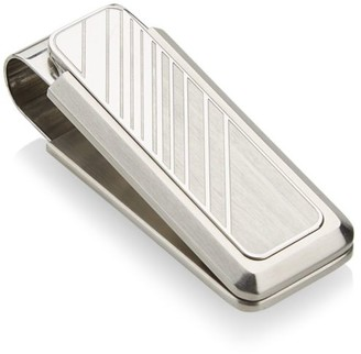 Saks Fifth Avenue COLLECTION Gradient Stainless Steel Money Clip
