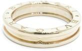 Bulgari B-Zero1 18K Rose Gold Ring Size 8.25