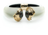 Alexis Bittar Golden Array Hinge Bracelet