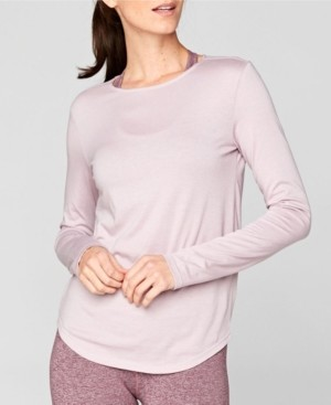 Threads 4 Thought Long Sleeve Circle Detail Shirt