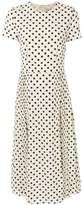 Burberry polka dot dress
