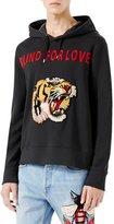 Gucci Blind for Love Tiger Sweatshirt, Black