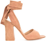 Gianvito Rossi Nika 10.5 sandals - women - Leather/Suede - 37.5