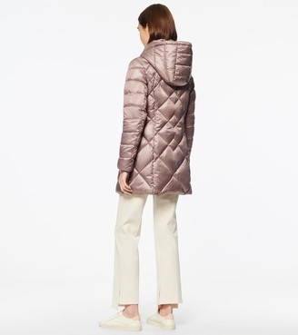 Andrew Marc CLAREMONT SYNTHETIC DOWN DIAMOND QUILT PUFFER