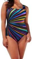 Women's One Piece Swimsuit, Billila Backless Swimwear, Plus Size Beach Bra (XL)