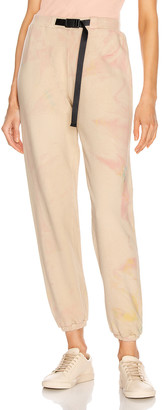 John Elliott Belted Sweatpant in Carnival Tan | FWRD