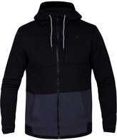 Hurley Men's Ay Matey Zip-Up Hoodie