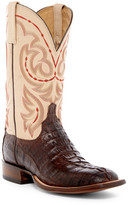 Lucchese Genuine Hornback Caiman Crocodile Cowboy Boot