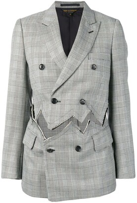 Comme des Garcons detached double-breasted blazer