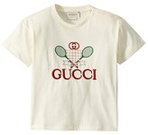 Gucci Kids Short Sleeve T-Shirt 576871XJBK2 (Infant) (Sun Kissed/Multicolor) Kid's Clothing