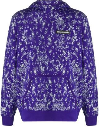 Billionaire Boys Club Splatter Print Hooded Jacket