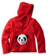 Bed Bath & Beyond HoodiePet HoOdiePetTM Size 3 - 4T Bambooie the Panda Hoodie in Red
