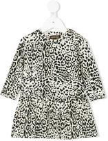 Roberto Cavalli leopard print dress - kids - Cotton/Spandex/Elastane/Modal - 12 mth