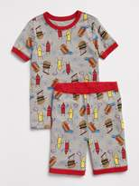 Gap Hamburger Short Sleep Set
