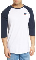 Billabong Men's Freedom Graphic Raglan T-Shirt