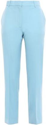 Victoria Victoria Beckham Victoria, Victoria Beckham Cropped Wool-twill Straight-leg Pants