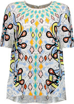 Peter Pilotto Printed crepe top