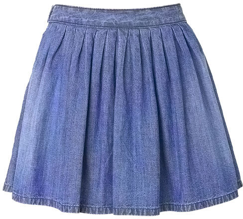 Alloy Spoon Jeans Chambray Skirt