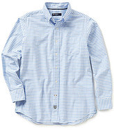 Daniel Cremieux Long-Sleeve Graph Oxford Woven Shirt