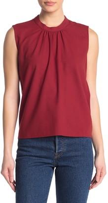 Amour Vert Naila Silk Sleeveless Shirt