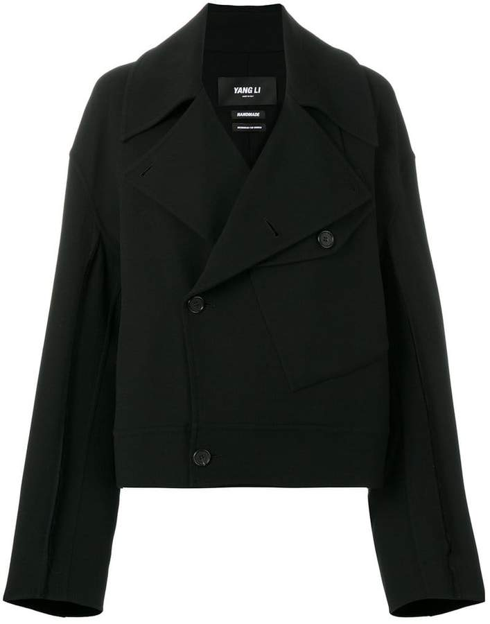 Yang Li double-breasted fitted jacket