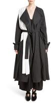 J.W.Anderson Women's Draped Collar Trench Coat