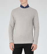 Reiss Jetty Ribbed Crew-Neck Jumper