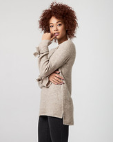 Le Château Brushed Viscose Scoop Neck Sweater