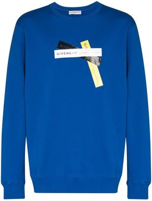 Givenchy x Browns 50 Address logo-tape sweatshirt