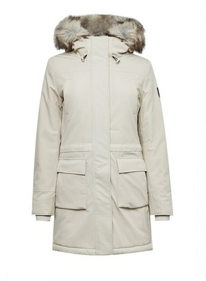 Dorothy Perkins Womens Only Grey Nylon Coat, Grey