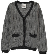 Douuod Sale - Fonico Two-Tone Cardigan