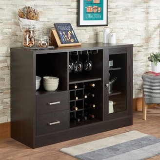 Mehul Server Latitude Run Color: Rustic Oak