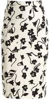 Altuzarra Celandrine floral-print crepe skirt