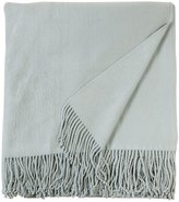 "Aviva Stanoff Silk Fleece Throw - Duck Egg - 50"" x 70"""