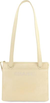 Chanel Cream Leather Shoulder Bag