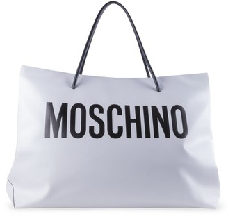 Moschino Logo Patent Tote