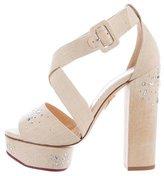 Charlotte Olympia Edna Embellished Sandals