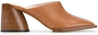 No.21 Pointed Toe Mules
