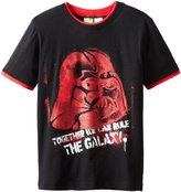 Star Wars Boys 8-20 Vader Galaxy Tee