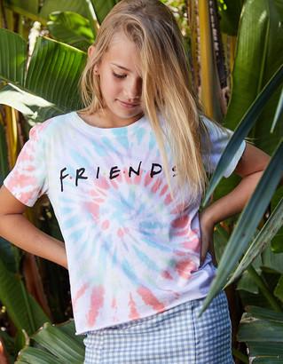 Friends Tie Dye Girls Tee