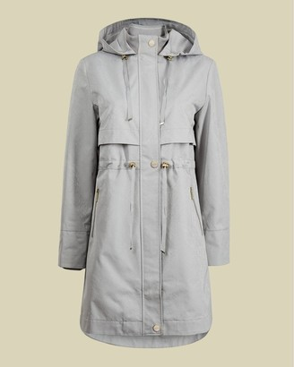 Ted Baker Drawstring Mac Coat