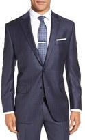 Peter Millar Men's Flynn Classic Fit Windowpane Wool Sport Coat